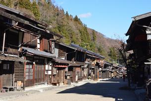 奈良井宿の写真素材 [FYI03439881]