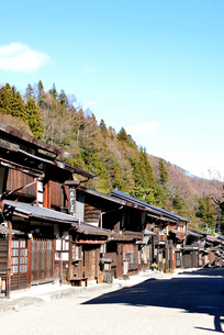 奈良井宿の写真素材 [FYI03439882]
