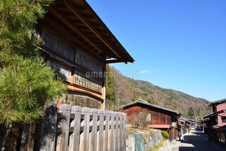 奈良井宿 高札場の写真素材 [FYI03439884]