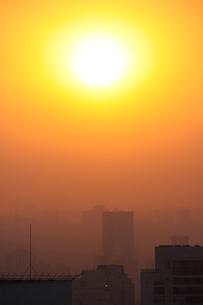 サンパウロの落日の写真素材 [FYI03440056]