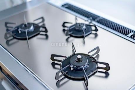 キッチン ガスコンロの写真素材 [FYI03440078]