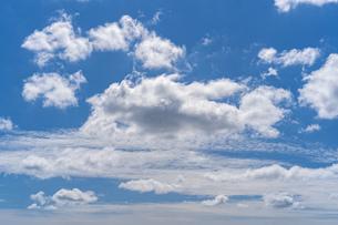 青空と雲の写真素材 [FYI03440168]