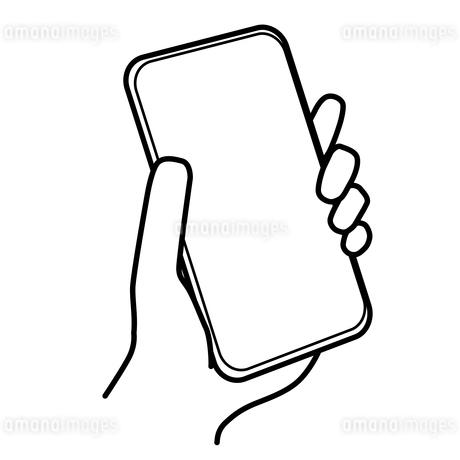 スマートフォン  イラストのイラスト素材 [FYI03440327]