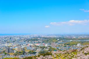 須磨浦山上より神戸市西部の街並みの写真素材 [FYI03440532]