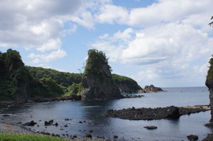 奥能登半島国定公園の風景の写真素材 [FYI03440599]