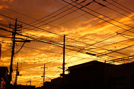 夕景イメージの写真素材 [FYI03440714]