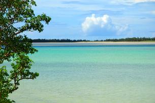 リゾート 宮古島の海の写真素材 [FYI03440720]