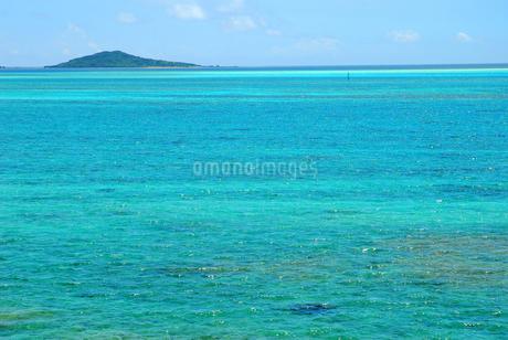 リゾート 宮古島の海の写真素材 [FYI03440721]