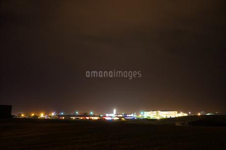 アイスランドの夜景の写真素材 [FYI03440760]