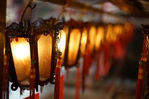 香港・文武廟の写真素材 [FYI03440825]