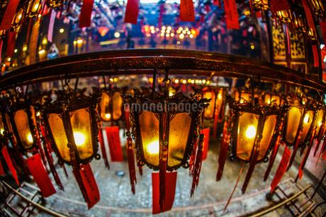 香港・文武廟の写真素材 [FYI03440862]