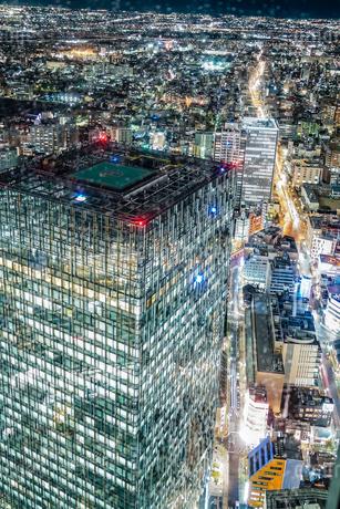 名古屋の夜景(スカイプロムナードから)の写真素材 [FYI03440886]