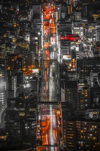 夜の交通イメージの写真素材 [FYI03440915]