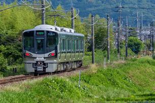 JR西日本、和歌山線の写真素材 [FYI03441179]