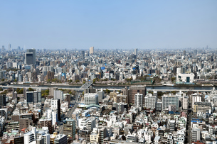 東京の街並みの写真素材 [FYI03441202]