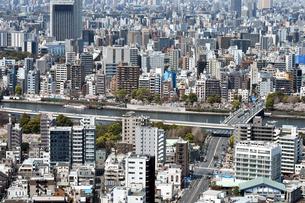 東京の街並みの写真素材 [FYI03441203]