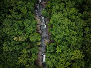 川の空撮の写真素材 [FYI03441256]