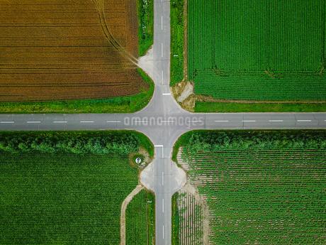 道路の俯瞰の写真素材 [FYI03441258]