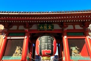 浅草寺の雷門の写真素材 [FYI03441306]