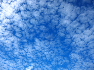 青空と雲の写真素材 [FYI03441347]
