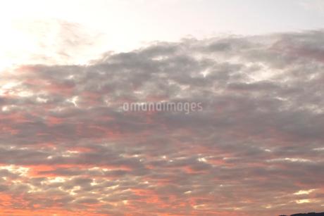 夕焼けの写真素材 [FYI03441351]
