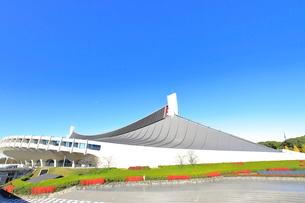 国立代々木競技場の写真素材 [FYI03441374]