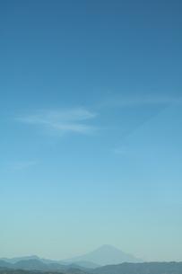 青空と富士山の写真素材 [FYI03442072]