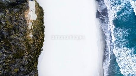 drone beach の写真素材 [FYI03442131]