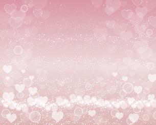 ハート ピンク 背景のイラスト素材 [FYI03442768]