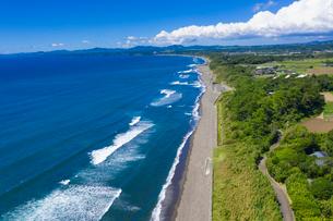 瀬平自然公園の海岸線の写真素材 [FYI03442960]