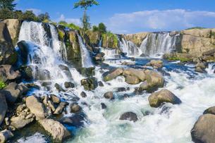 東洋のナイアガラ 曽木の滝の写真素材 [FYI03443006]