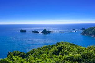 南さつま海道八景 丸木崎展望所から眺望の写真素材 [FYI03443018]