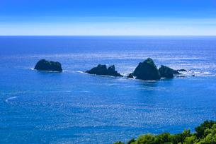 南さつま海道八景 丸木崎展望所から眺望の写真素材 [FYI03443019]