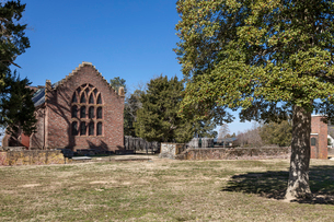アメリカ、バージニア植民地、ジェームズタウンの写真素材 [FYI03443089]