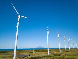 風力発電の写真素材 [FYI03443109]