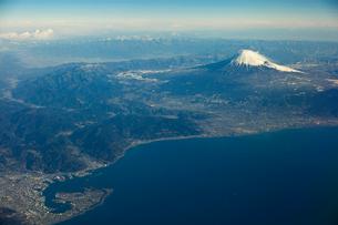 富士山空撮の写真素材 [FYI03443317]