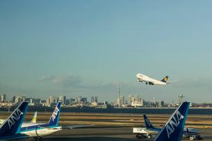 日本の風景、羽田空港の写真素材 [FYI03443525]