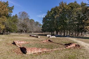 アメリカ、バージニア植民地、ジェームズタウンの写真素材 [FYI03443591]