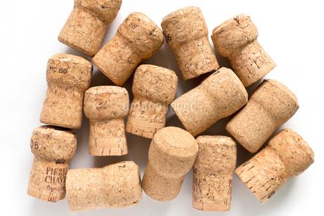コルク ワイン コルク栓 スパークリングワインの写真素材 [FYI03443996]