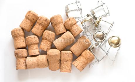 コルク ワイン コルク栓 スパークリングワインの写真素材 [FYI03443998]