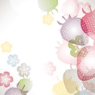 苺 背景のイラスト素材 [FYI03444148]