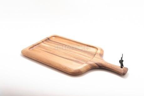 カッティングボード 木製のまな板の写真素材 [FYI03444176]