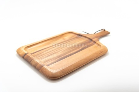 カッティングボード 木製のまな板の写真素材 [FYI03444178]