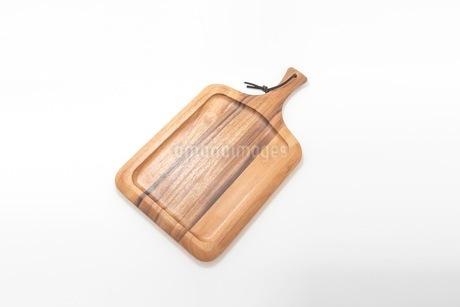カッティングボード 木製のまな板の写真素材 [FYI03444179]
