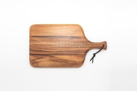 カッティングボード 木製のまな板の写真素材 [FYI03444180]