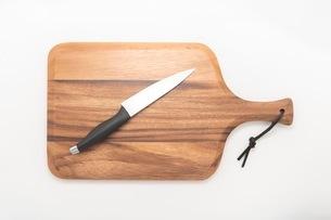 カッティングボード 木製のまな板の写真素材 [FYI03444185]