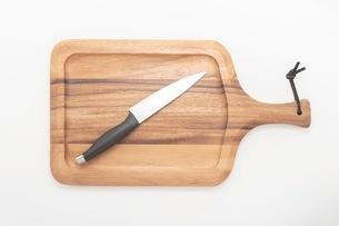 カッティングボード 木製のまな板の写真素材 [FYI03444187]