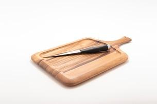 カッティングボード 木製のまな板の写真素材 [FYI03444192]