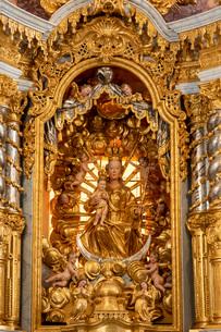 聖マリア教会の祭壇の写真素材 [FYI03444269]