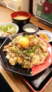 親子丼の写真素材 [FYI03444336]